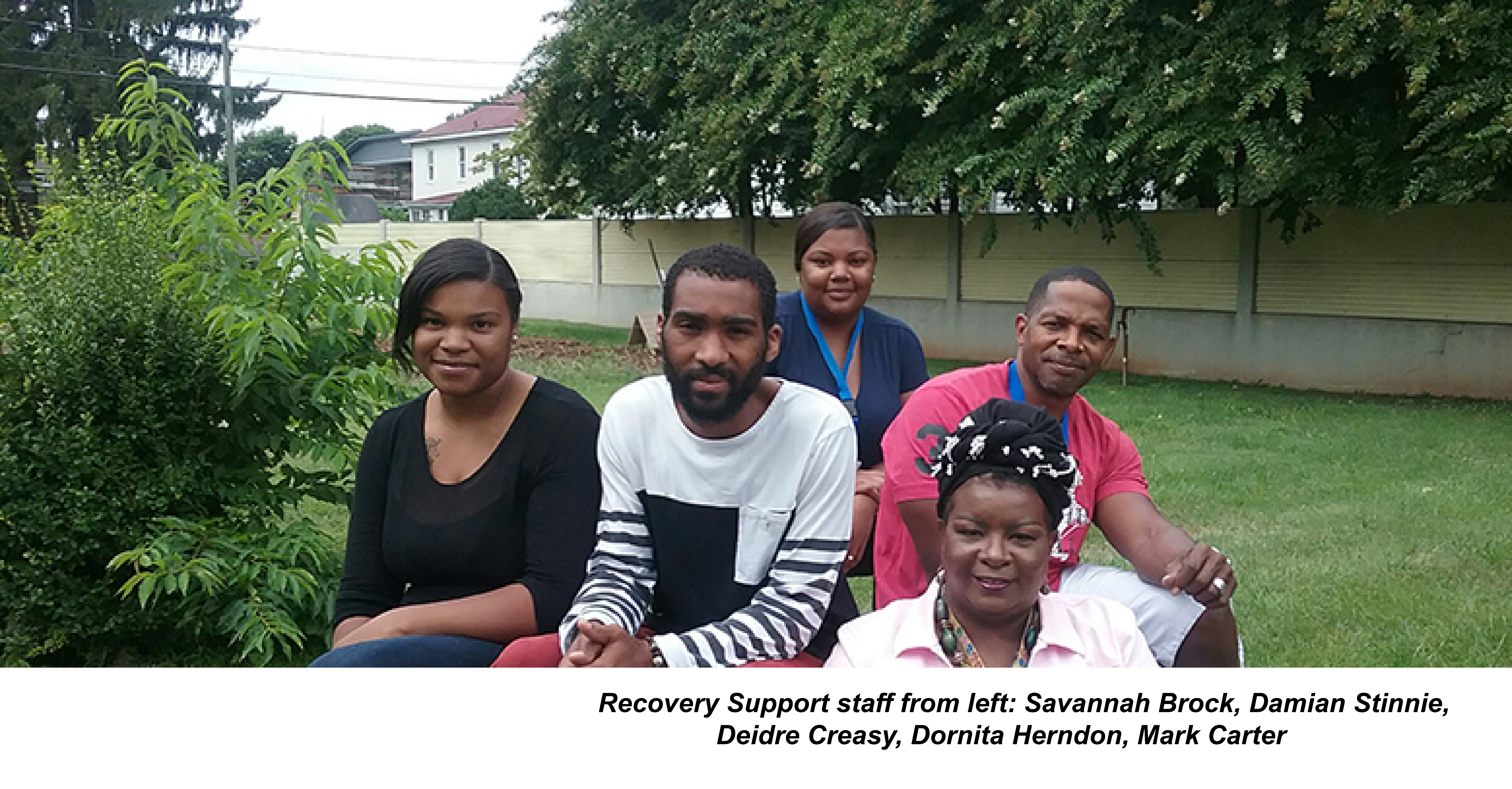 rECOVERY sUPPORT STAFF